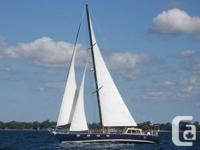 It's said the 1st twin-keel sailboat was Lord