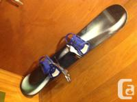 150cm ALL MTN SNOWBOARD WITH BINDINGS CONTOUR. This