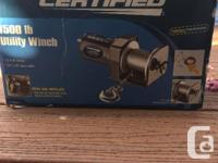 Brand New, never used ATV winch, still in the box. Paid