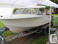 This 15'6 1981 Hourston had been modified inside for