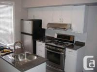 Bright, newly renovated two bedroom apartment on a