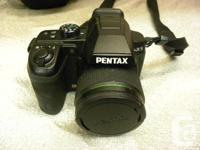 Pentax X-5 digital camera, item #158547-1. 16MP, 4.0