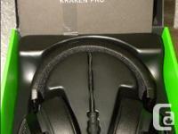 Razer Kraken Pro V2 sound isolating wired gaming