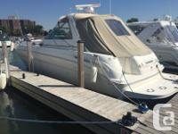 2000 Sea Ray 380 SundancerThis is a very clean well