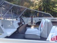 Very well maintained 1988 K&C Thermoglass 16' with 70hp