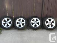 For sale 4 OEM Honda Civic rims with all season
