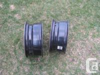 """2 - 16"""" steel rims to fit GM/Chev trucks with 6x139.5"""