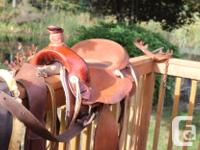 "16"" Western Saddle Handcrafted by the Dakota Saddlery for sale  British Columbia"