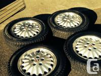 Acquired some 225/60/16 GT Radial Champiro ice pros