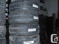 215/65 R16 MICHELIN WINTER TIRES ,$220 FOR THE