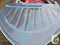 16' fiberglass Anchor boat with a 40 hp Johnson motor