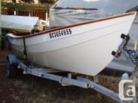 Professionally built 16' Semi-Dory, designed by the