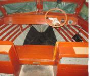 Classic 1960 16' Eastern Sea Skiff boat for sale.