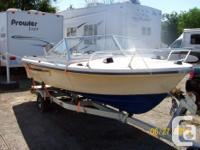 Surf Master Boat 16' Fiberglass, Needs TLC, Vintage