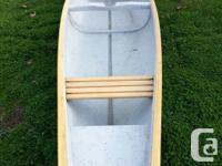 16' frontiersmen canoe. It great shape new steam bent