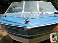 1990 LARSON, v-4 140 h.p. engine has only in salt water