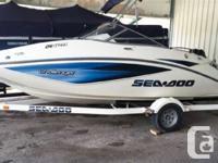 Bimini top, custom trailer, sea doo boat cover, Rotax
