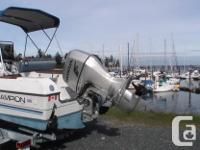 1985 campion fishing machine -Powered by a 2008 Honda