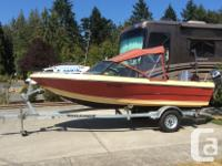 Nothing to do on this 16.5' Campion runabout sitting on