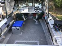 Silver Streak Aluminum with 2 foot pod; Suzuki 90hp w/