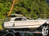 This is Bayliners very practical big small boat for