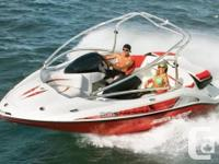 This Viper Red Sea Doo Speedster 200 features twin