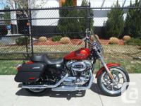 2014 Harley Davidson Sportster Superlow in Candy