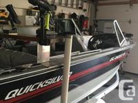 Mint condition 2014 90 hp Yamaha motor with a 1997