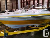 MUST SEE, WATER READY! 18' bowrider, sport interior