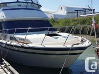 VERY WELL MAINTAINED FIBERFORM AFT CABIN MOTOR YACHT