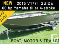 new 2015 G3 Guide V177T boat with Yamaha 60 horsepower