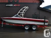 1995 Sanger DLX 20' Open bowThis ski,wake,surf boat is