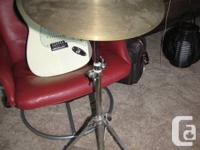"""Available for sale is an excellent vintage 16"""" Sabian"""