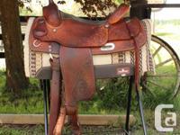 """16"""" Champion Turf Western Saddle This western saddle is"""