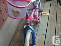 """I have a Like New 16"""" Child Bike with Princess Basket"""