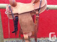 "Selling my *NEW* 16"" Corriente Association saddle, QHB"