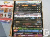 16 dvd movies  mint condition $3 each or 2 for $5 email
