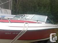 16 foot invader Bowrider speed boat 50mph Ski bar Deep