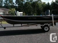 I am selling my 2006 16 foot Lund watercraft model