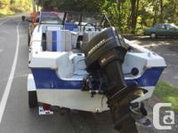I have a 16 foot bowrider with 60 mercury motor runs