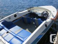 16 ft cobra with 130 evinrude. Engine has VERY low
