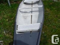 This 16 ft AC frontiersman canoe can carry a big load.