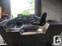 Fully loaded 18gal build in fuel tank fish box in floor