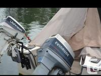 16 ft K&C Neptune with trailer 60 hp Evinrude 2 stroke