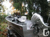 16 ft Lifetimer aluminium  boat  in excellent