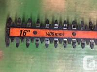 16� BLACK &. DECKER ( good name ) 110 volt hedge