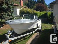 1970's Hourston Glascraft runabout with 2011 Yamaha 4