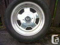 4 - 16 inch center line rims with 245 / 50 r16