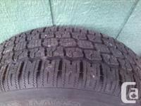 Four P215/60 R16 94S mounted/balanced on 5 bolt steel