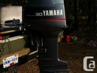 16' Lund with Karavan trailer and 30 hp Yamaha 2